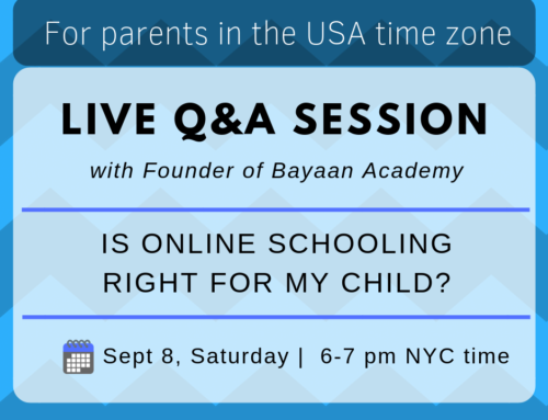 Live QnA Session with Parents