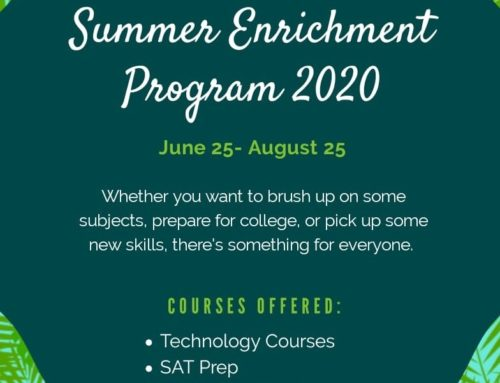 Summer Enrichment Program 2020